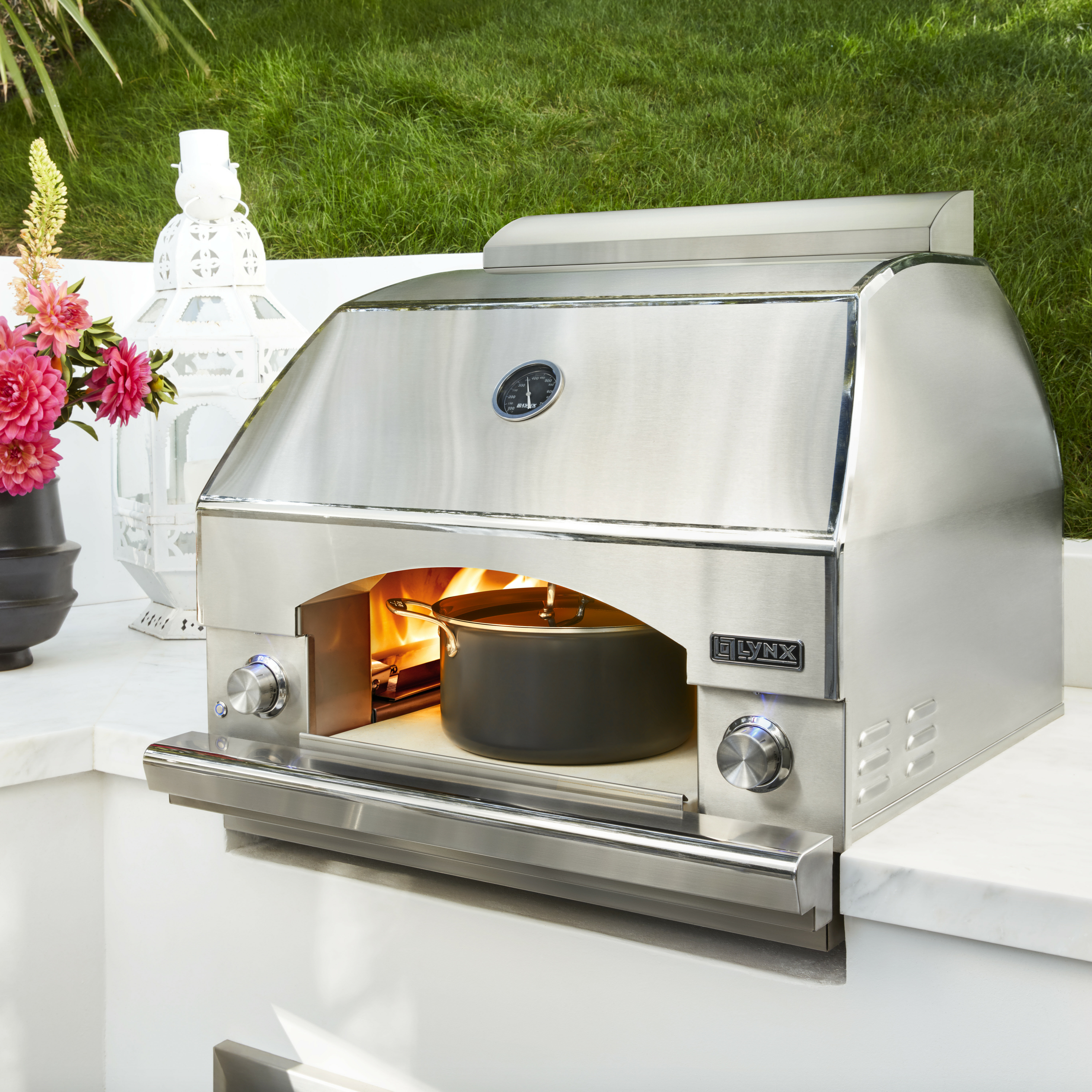 Lynx Freestanding Napoli Outdoor Pizza Oven Wayfair