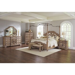 Attractive George Canopy Configurable Bedroom Set