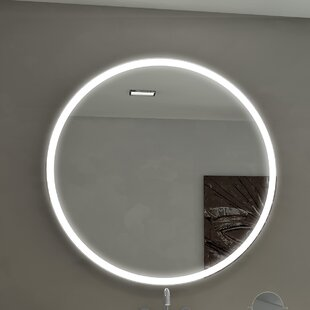 Comparison Kristian Illuminated Bathroom / Vanity Wall Mirror ByOrren Ellis