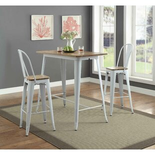 Colten 3 Piece Pub Table Set by Gracie Oaks