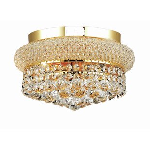 Destanee 4-Light Semi Flush Mount by Willa Arlo Interiors