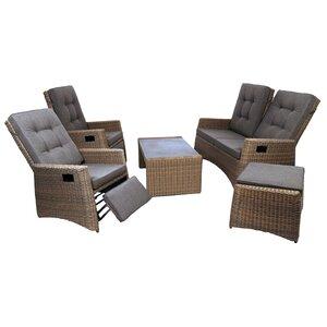 5-tlg. Sofa-Set Milborne mit Kissen von Byron Manor