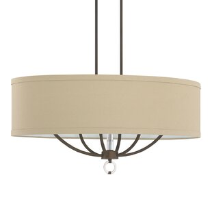 Savings Kincaid 6-Light Drum Chandelier By Red Barrel Studio