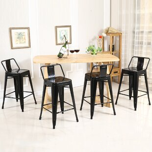 Price comparison 30 Bar Stool (Set of 4) by Belleze Reviews (2019) & Buyer's Guide