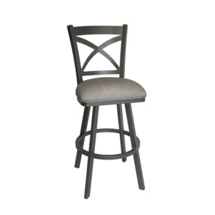 Biddulph 30 Swivel Bar Stool Winston Porter