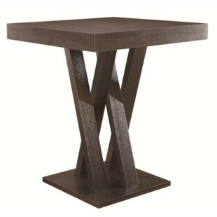 Dechant Wooden Counter Height Dining Table Wrought Studio