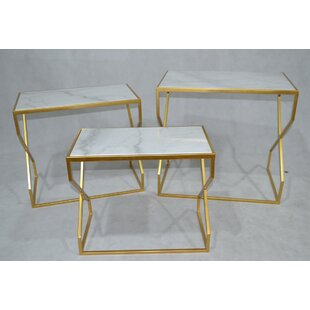 Dickinson 3 Piece Nesting Tables