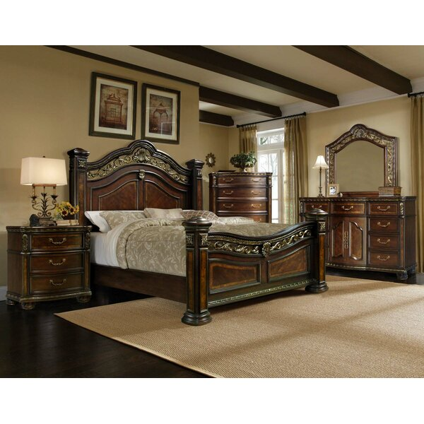 Ultimate Accents Old World 5 Pc Bedroom Set & Reviews | Wayfair