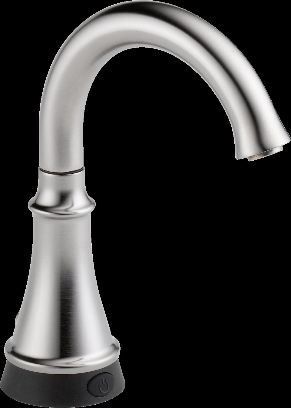 Delta Touchless Deck Mounted Standard Kitchen Faucet with Touch2O ...