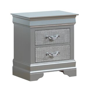 Mercer41 Paignton 2 Drawer Nightstand