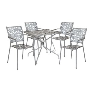Freudenburg Square 5 Piece Dining Set by Ebern Designs