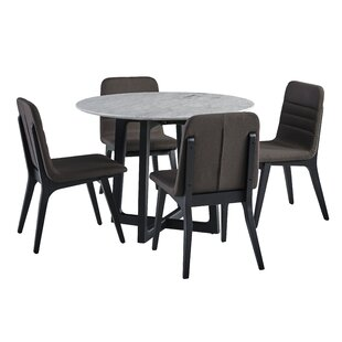 Braymer 5 Piece Dining Set Brayden Studio