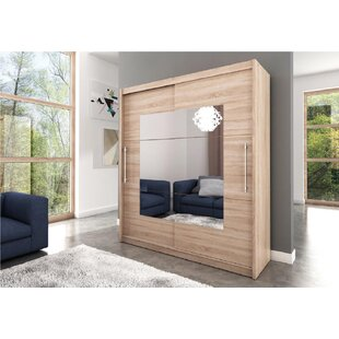 Deven 2 Door Sliding Wardrobe By Ebern Designs