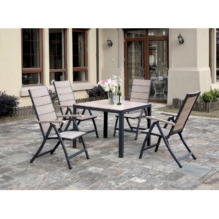 JB Patio 5 Piece Dining Set