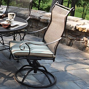 Alexandria Swivel Patio Dining Chair