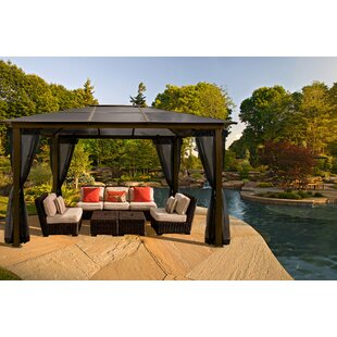 Paragon-Outdoor Sierra 10 Ft. W x 13 Ft. D Aluminum Patio Gazebo