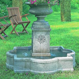 Campania International Palazzo Concrete Urn Fountain