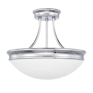 Stacie 3-Light Semi Flush Mount