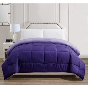 Reversible All Season Down Alternative Comforter by Alwyn Home Today Only Sale