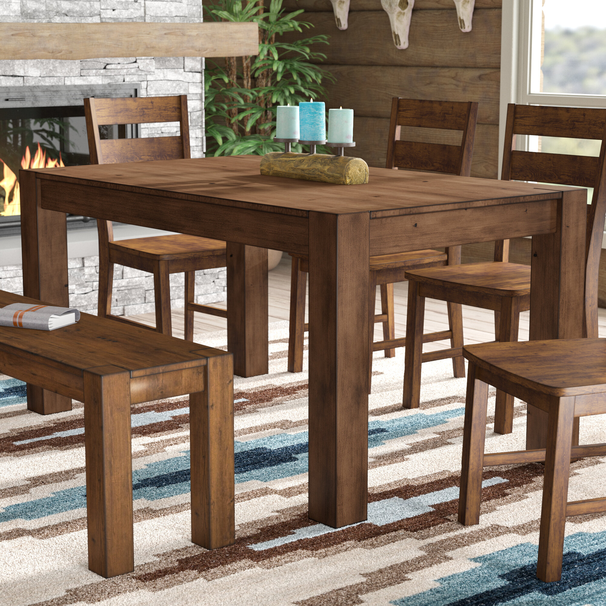 room by with design dp large kitchen dining furniture ashley amazon hl bench tables signature com brown