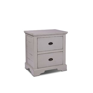 Ragnar 2 Drawer Nightstand by August Grove