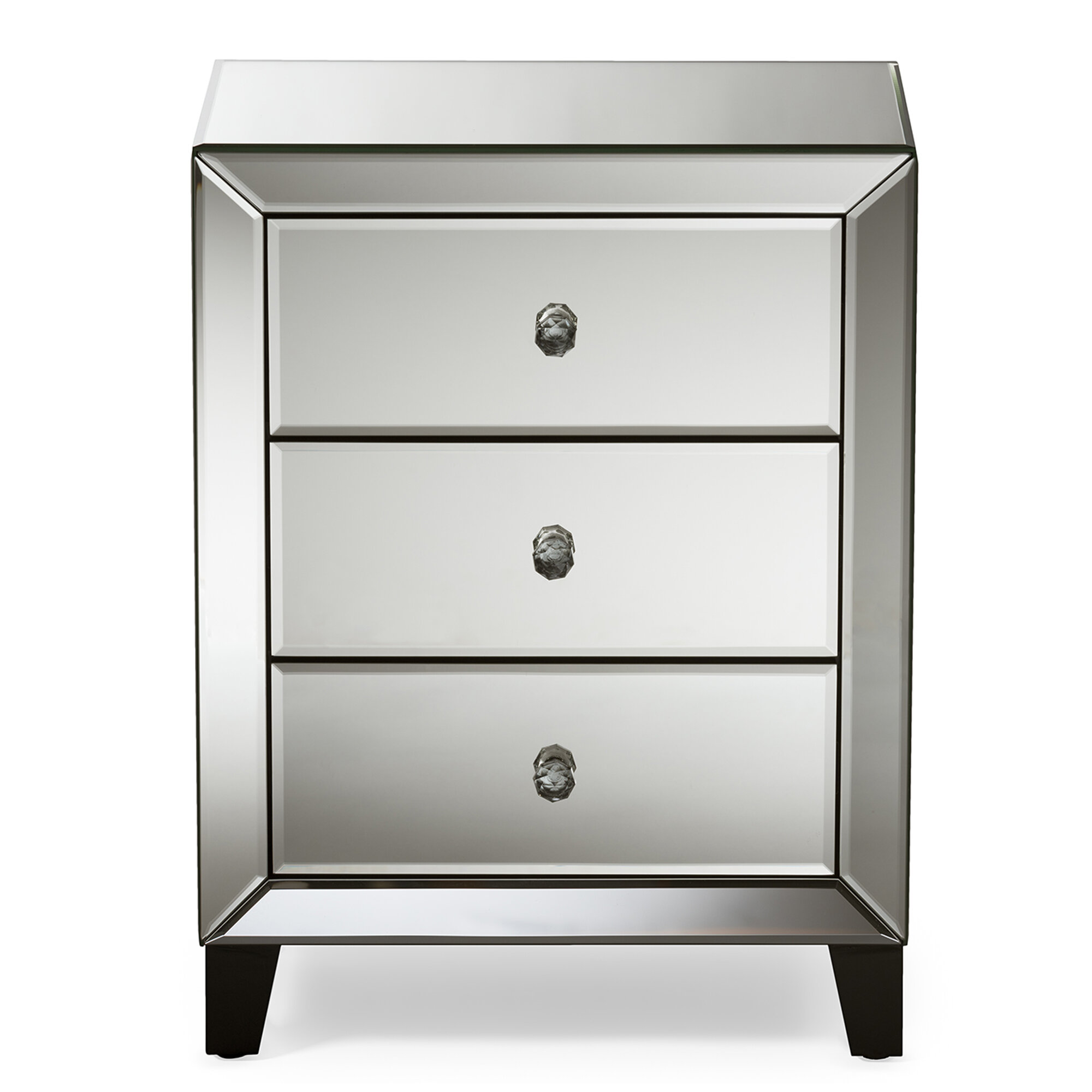 Beglin 3 Drawer Nightstand