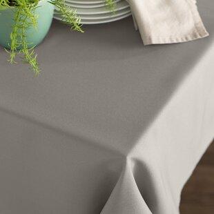 Gray Silk Tablecloth | Wayfair