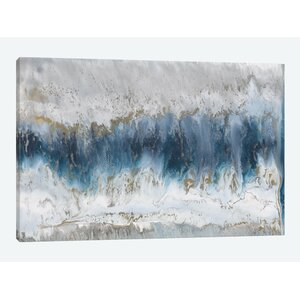 U0027Moon Stoneu0027 Painting Print On Canvas