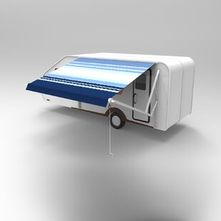 Vinyl RV Awning 10ft. W x 8ft. D Retractable Fabric by ALEKO