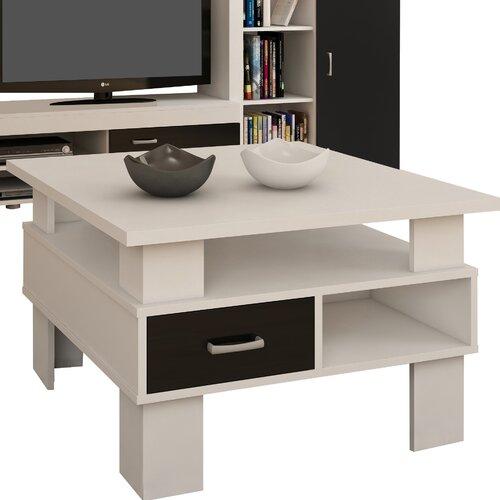 Couchtisch Diana | Wohnzimmer > Tische > Couchtische | Weiß/schwarz hochglanz | Sonoma - Holzwerkstoff - Holz | dCor design