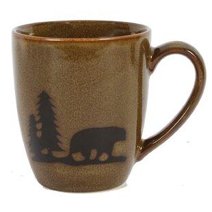 Comet Bear Stoneware 12 Oz. Mug