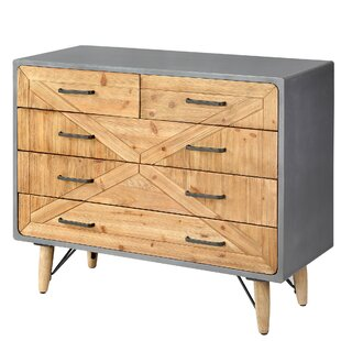 Getz 5 Drawer Accent Cabinet by Ivy Bronx