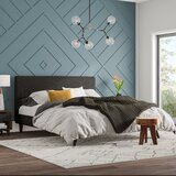 Astra Upholstered Platform Bed by Mercury Row®