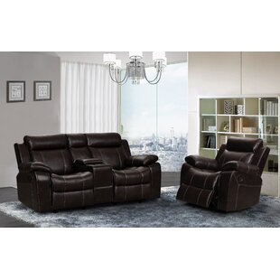 Manan Reclining 2 Piece Living Room Set by Red Barrel Studio