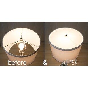14 Acrylic Drum Lamp Shade