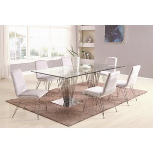 Noah 7 Piece Dining Set Orren Ellis