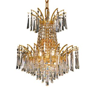 Everly Quinn Phyllida 4-Light Empire Chandelier