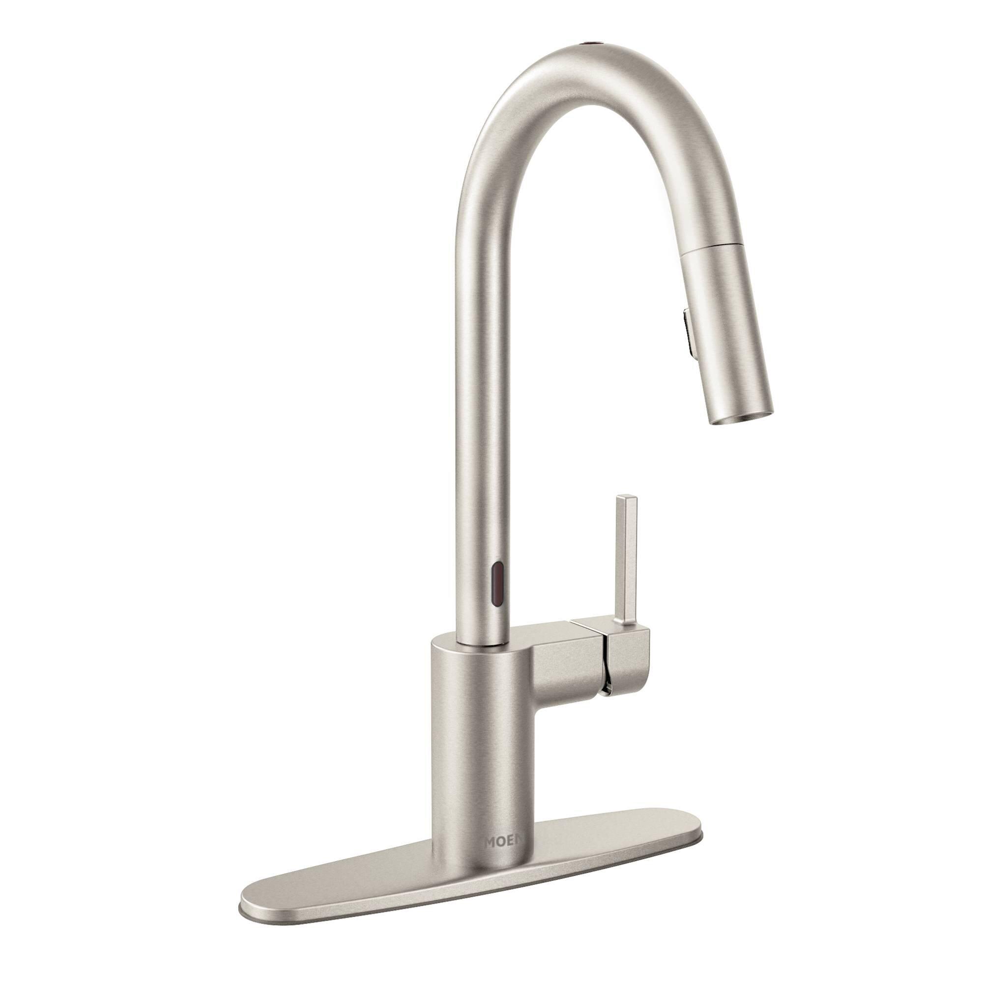 Motionsense Kitchen Faucet | Moen Align Pull Down Single Handle Kitchen Faucet With Motionsense