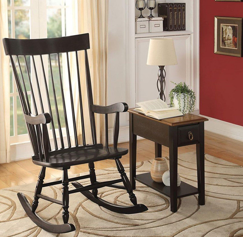 Canora Grey Woolley Rocking Chair Wayfair