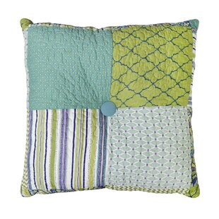 Whitman Patch Cotton Throw Pillow