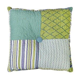 Whitman Patch Cotton Throw Pillow