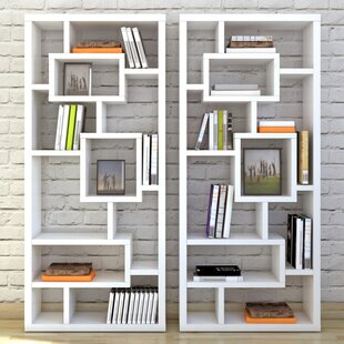 with studio cube wood bookcase new modern dark brown storage bookcases kallax shelves fitted ikea organizer white small bookshelf shelving unit shelf doors