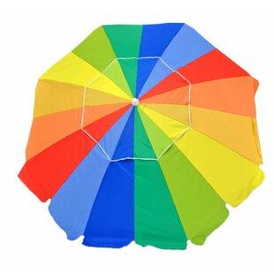 Alain Beachball 7.5' Beach Umbrella by Freeport Park