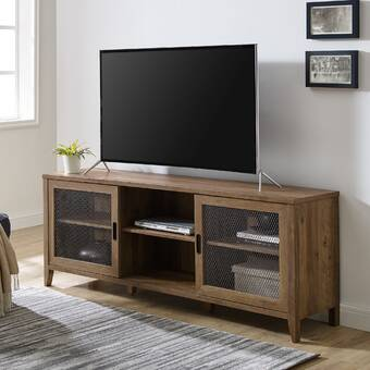 George Oliver Wightman Tv Stand For Tvs Up To 78 Reviews Wayfair