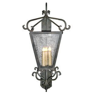 Affordable Siena 3-Light Outdoor Wall Lantern By Laura Lee Designs