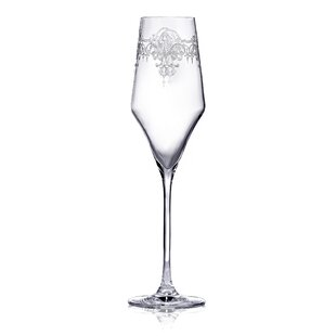 Aram Glass 220ml Champagne Flute (Set of 6) by All Home