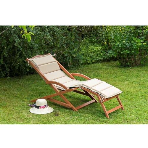 2-tlg. Gartenliegen-Set Collinsworth mit Auflage Garten Living   Garten > Gartenmöbel > Sitzauflagen   Garten Living
