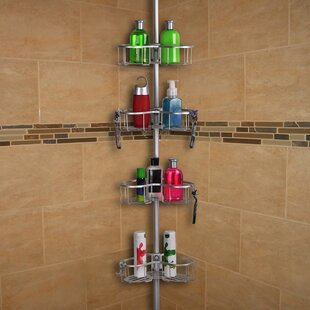 Tension Rustproof Shower Caddy