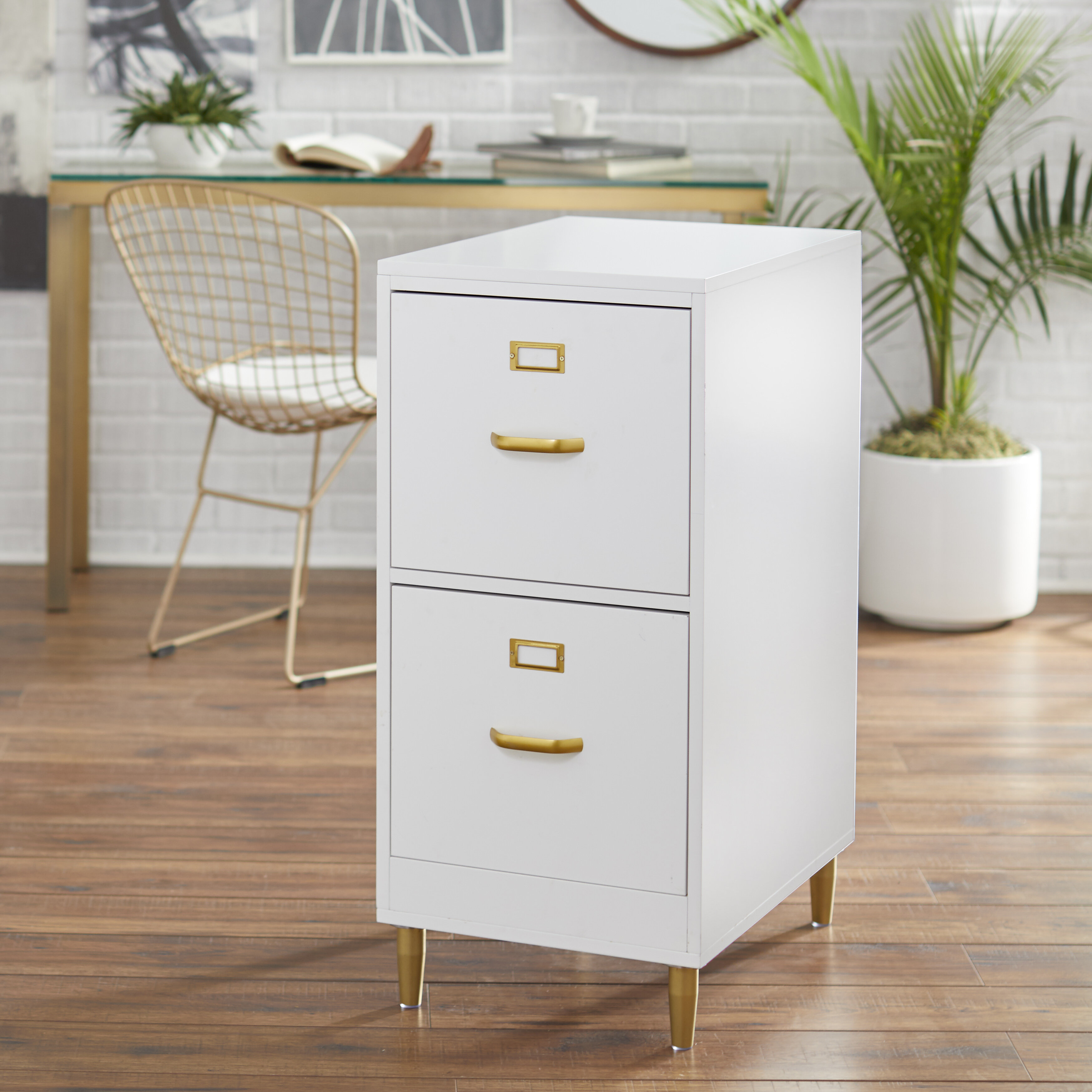 2 Draw Filing Cabinet 2 Available