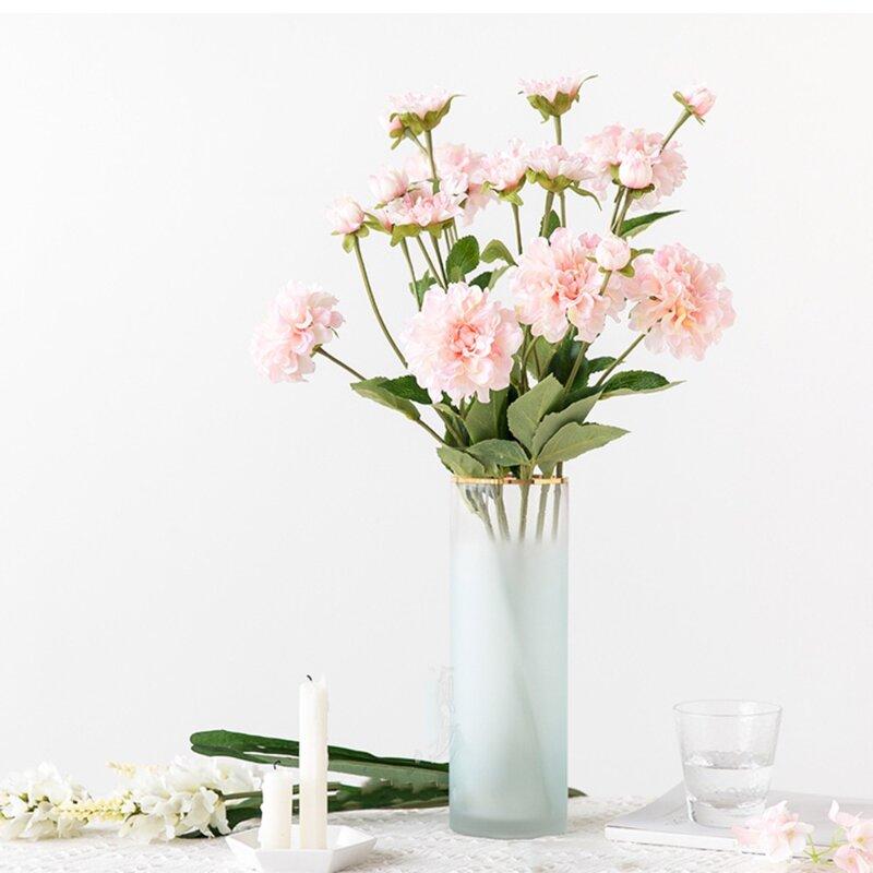 House Of Hampton Silk Flower Camellia Stem Wayfair